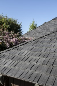 Steep roof pitch no problem for polymer shake tiles for Polymer roofing