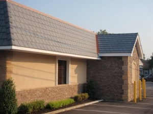 Yesterday's Restaurant in NJ with Bellaforte roof in Slate Gray.