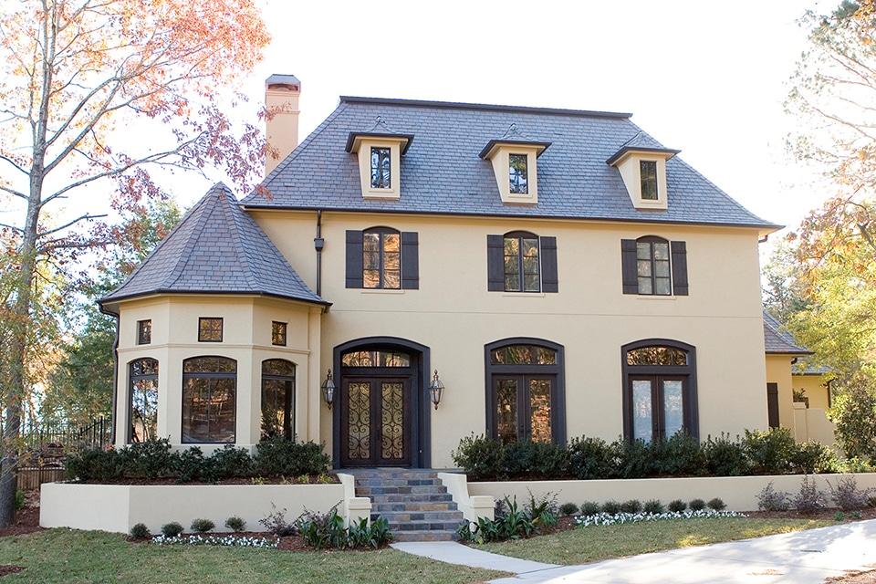 Brownstone shake roof davinci roofscapes for Davinci bellaforte shake reviews