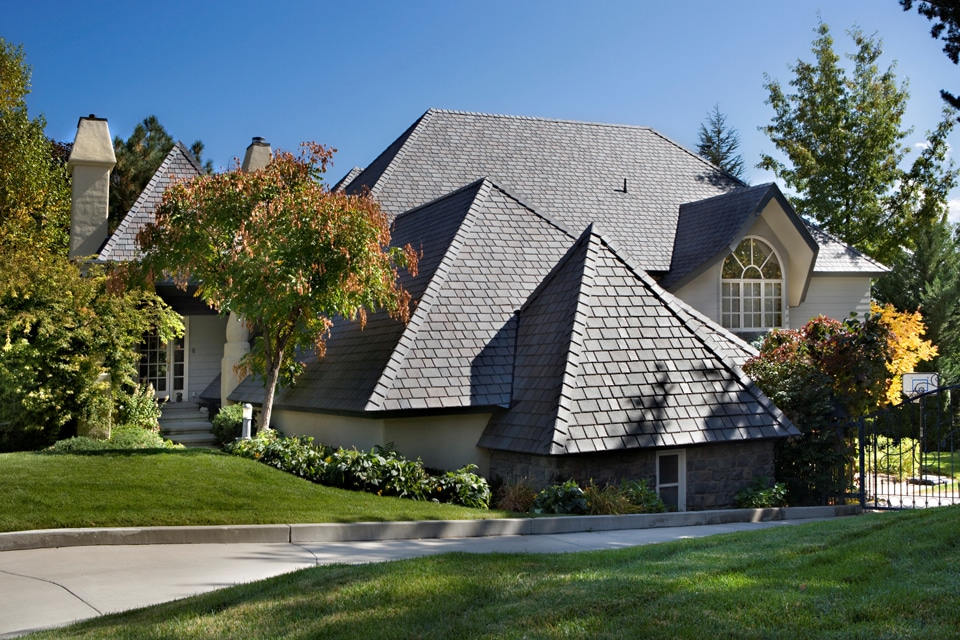 Brownstone Shake Roof Davinci Roofscapes