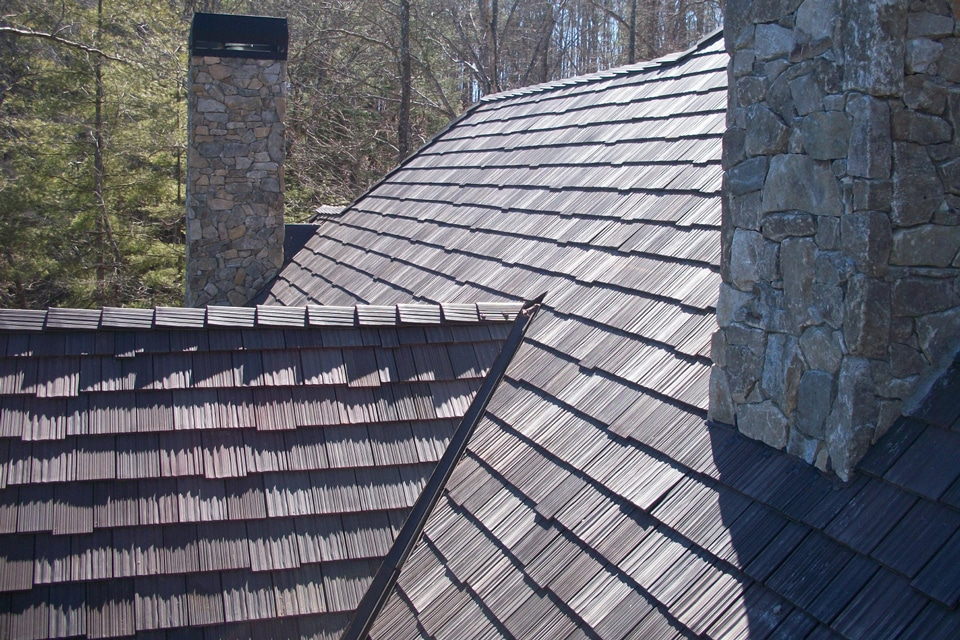 Bellaforte slate roof gallery davinci roofscapes Davinci roofing products