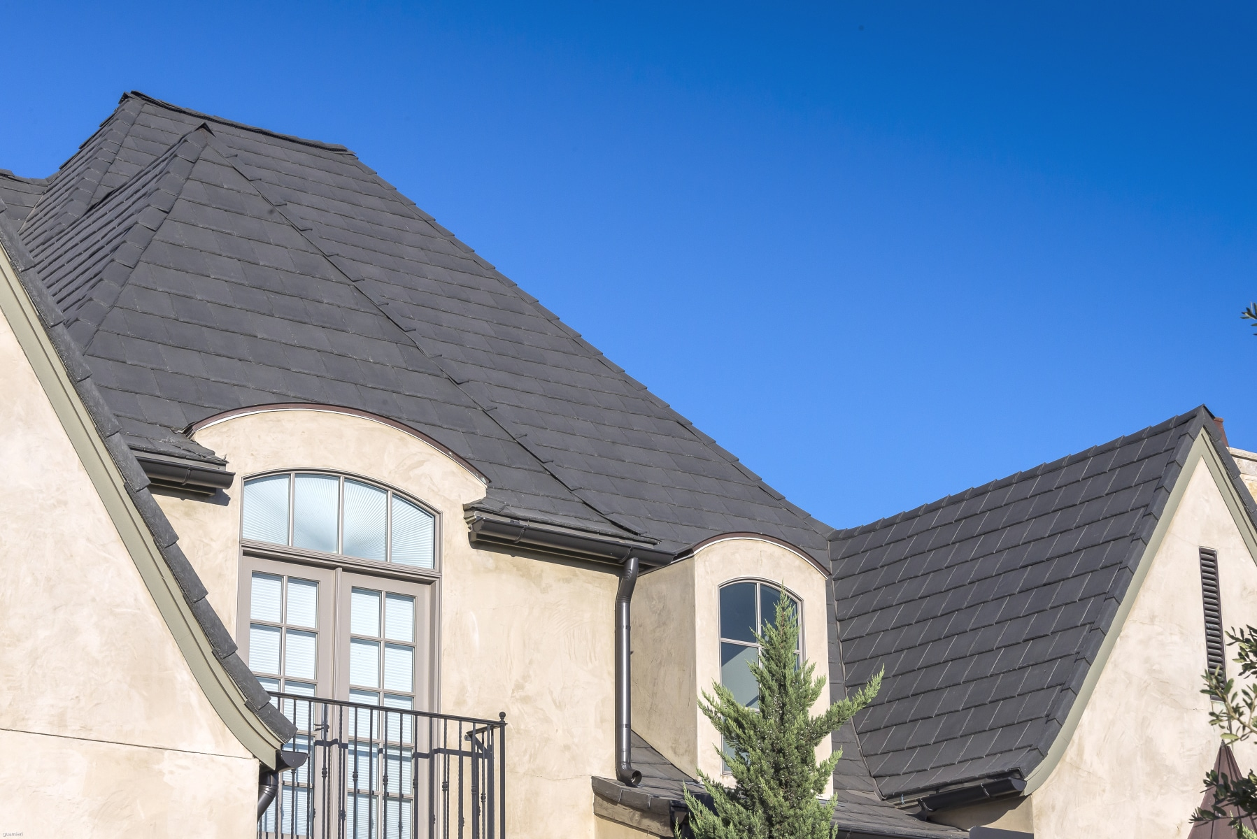 Slate Gray Shake Roof Davinci Roofscapes