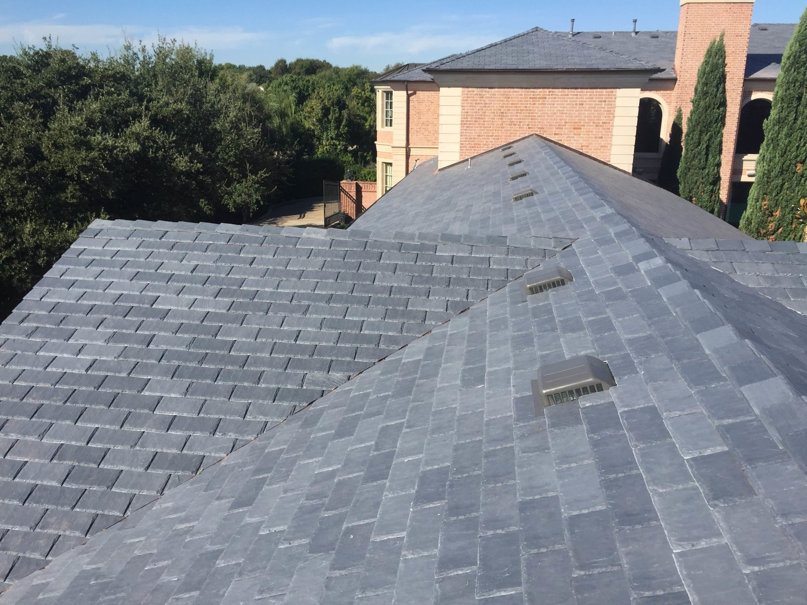 Castle Gray Shake Roof Davinci Roofscapes