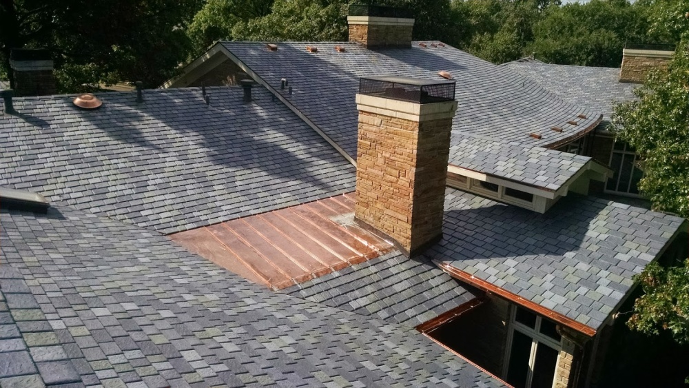 Lucky 13 for kansas roofer davinci roofscapes for Davinci synthetic slate price