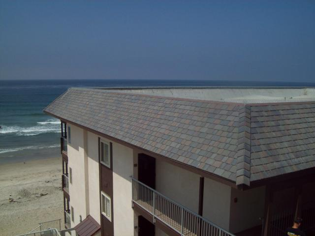 Polymer Composite Slate Roof