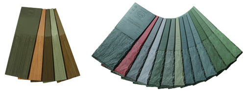 DaVinci Roofscape Slate and Shake Color Fans
