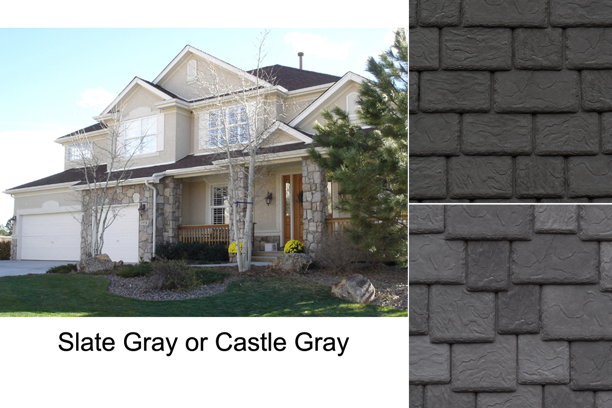 A gray plastic roofing material would have been a better choice than the black