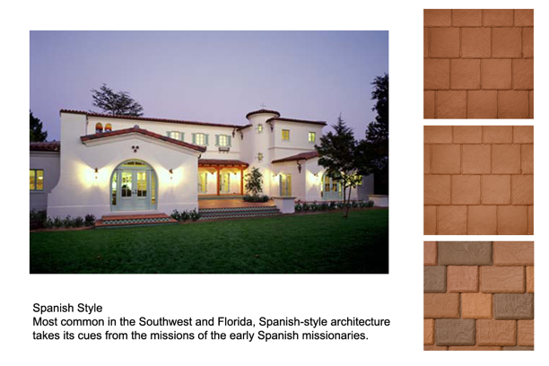 Spanish style home with DaVinci synthetic shake options
