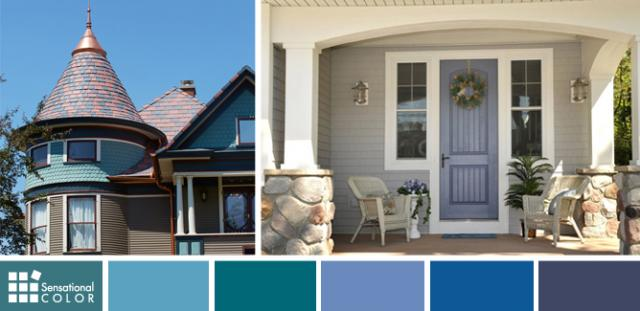 Exterior and Interior Color Trends in Blue