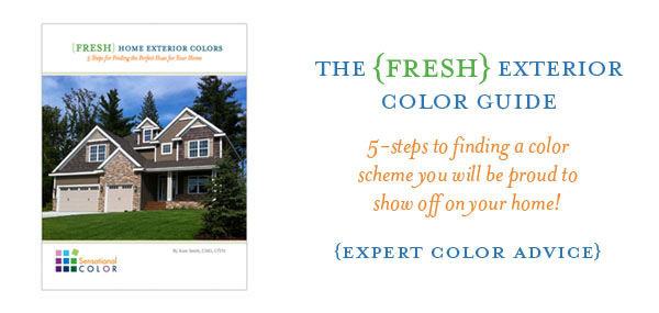 FRESH Home Exterior Color Guide by Kate Smith