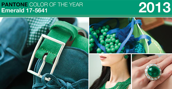 Pantone 2013 Color of the Year Emerald 17-5641
