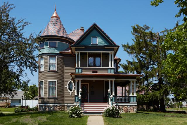 Imel house with Vineyard slate