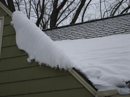 Roof that needs snowguards