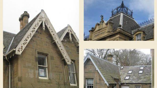 ornate scottish rooflines