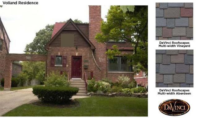 Color help which color blend multi width davinci slate for Davinci roofscapes llc