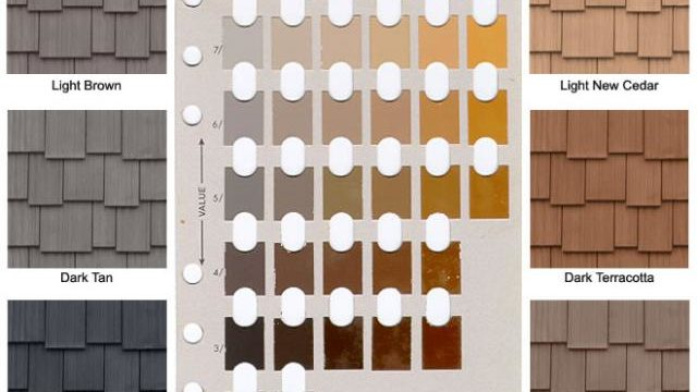 Soil colors to match your simulated shake or rubber shake roof