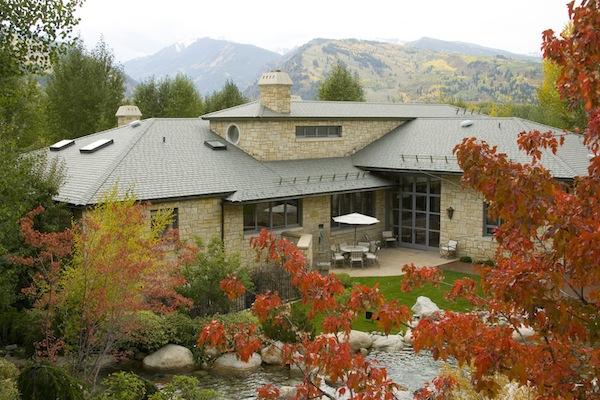 DaVinci Roofscapes Multi-width Slate in Evergreen