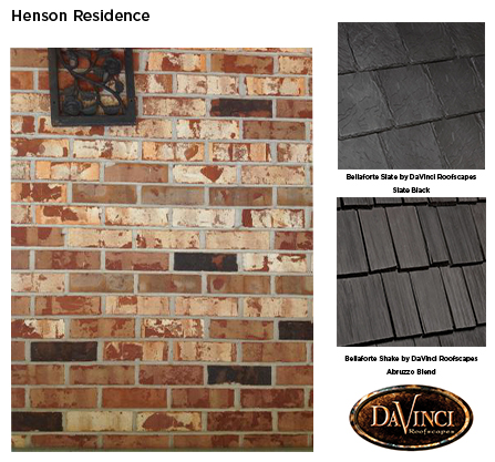 what shingle color will compliment my chicago brick davinci
