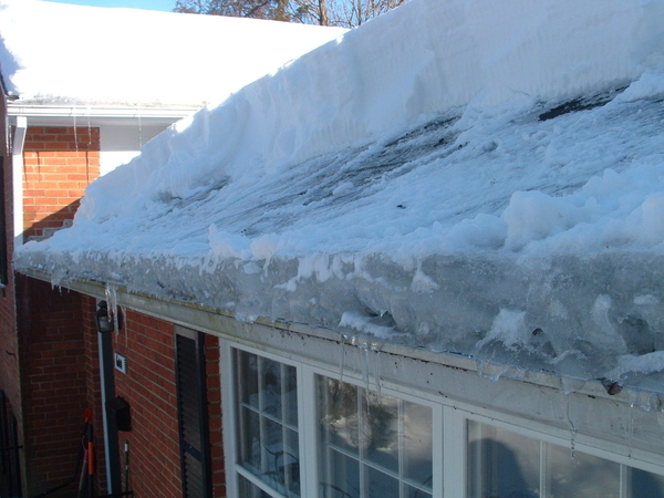 Roofing Tips Ice Dam What S That Davinci Roofscapes