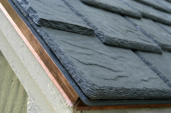 No more roof maintenance worries davinci roofscapes for Davinci slate roof