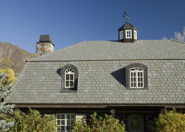 gambrel roof with DaVinci composite shake
