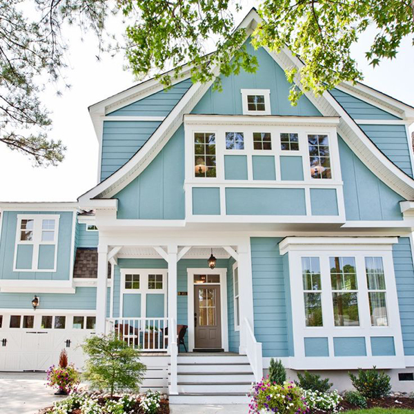 Exterior Color Trends 2014 Blue