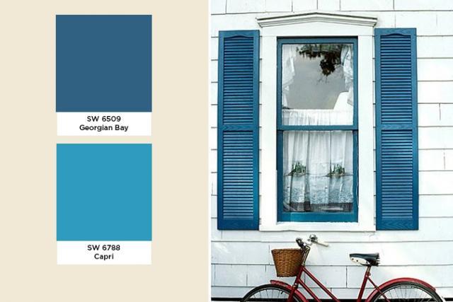 Exterior Color Trends 2014 Blue