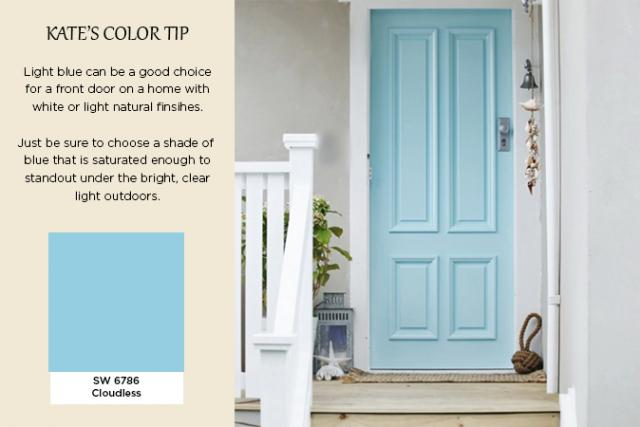 Exterior Color Trends 2014 LIght Blue