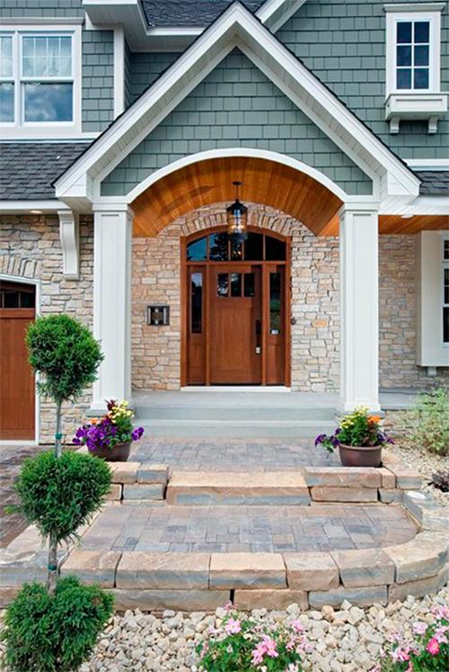 Home Exterior Trends 2014 Quiet Elegance