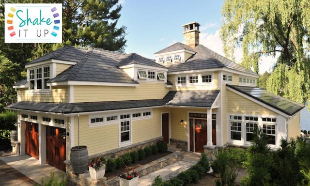 Bellaforte Imitation Slate Black Roof
