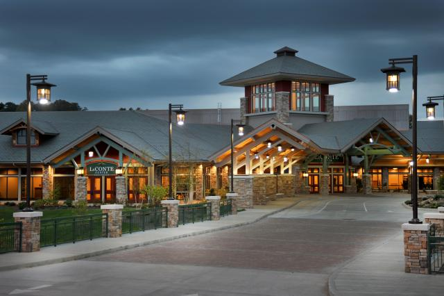 leconte center in tennesee with davinci roof