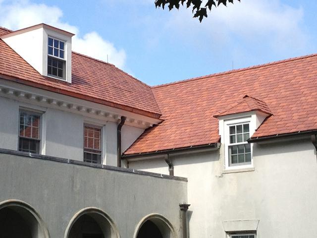 Multi-width Imitation Slate Roof
