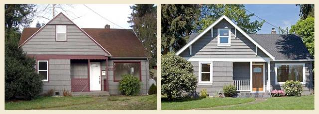Before and After Cottage Renovation