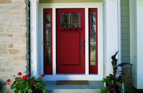 Color Contest Therma-Tru Red Front Door