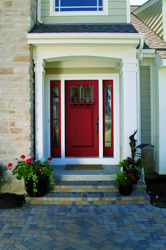 Color Contest Therma-Tru Red Front Door