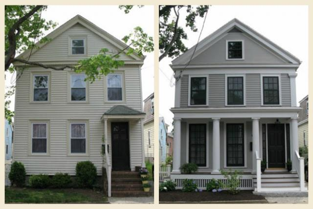 Greek Revival Exterior Renovation