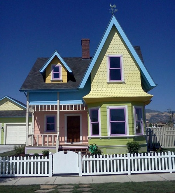 Pixar 'UP' Inspired House