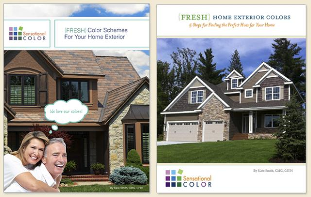How To Choose Exterior Color From The Top Down