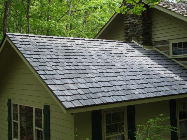 Davinci roofscapes shake up log cabins davinci roofscapes for Davinci roof cost