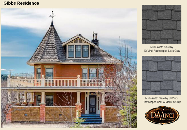 Need help finding alternative to all black roof for Davinci roofscapes llc