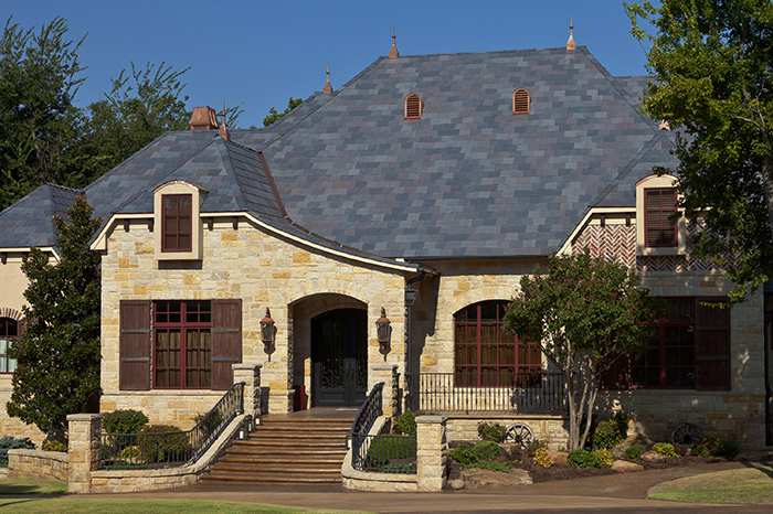 Fake Slate Roof