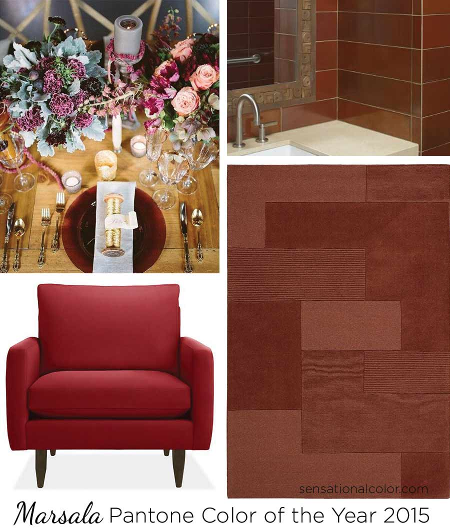 Marsala Color of the Year Pantone