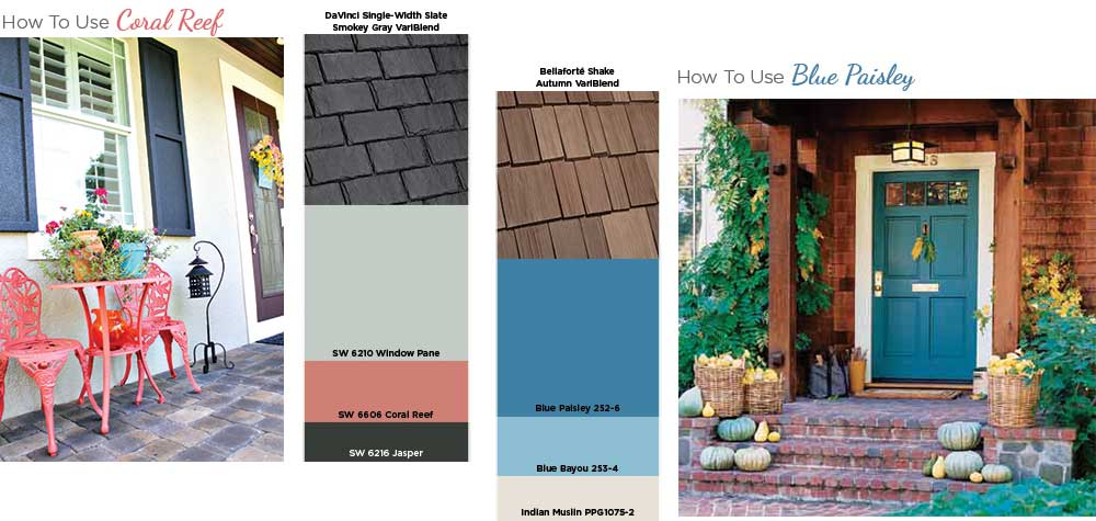 How to use the hottest colors on your home exterior