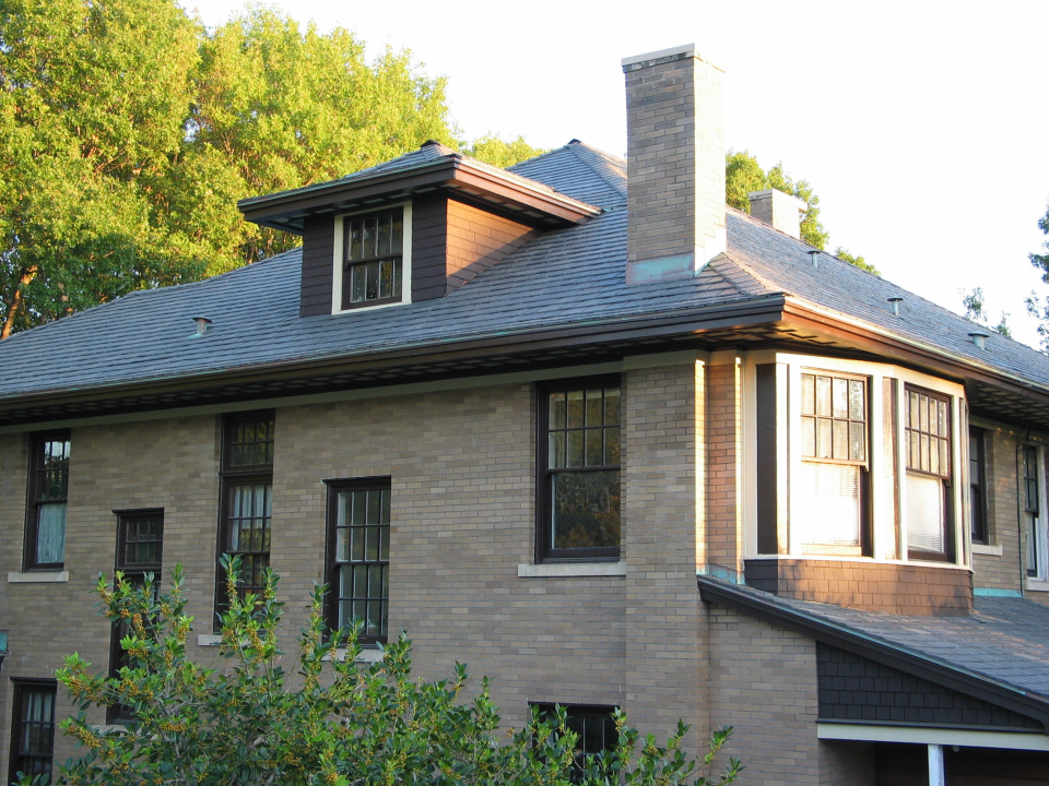 home with davinci polymer roof