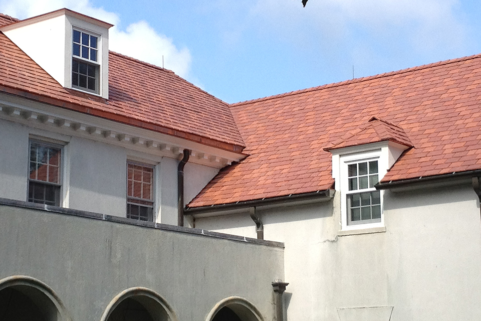 DaVinci Roofscapes Multi-Width Synthetic Slate Roof Shingles