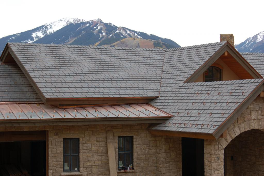 Freeze thaw no trouble for davinci polymer roofing for Polymer roofing