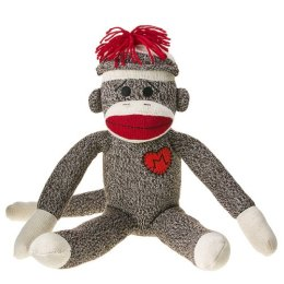 sock monkey graphic
