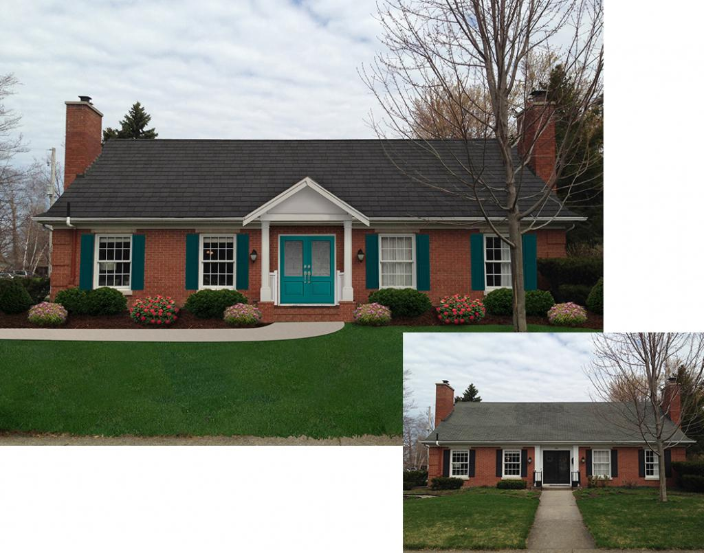 Home Exterior Makeover For Color Contest Finalist - Tucker