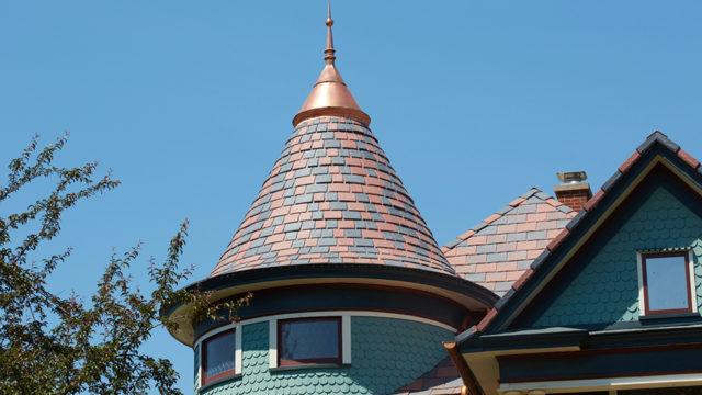 BELLAFORTE SLATE custom poymer tile roof