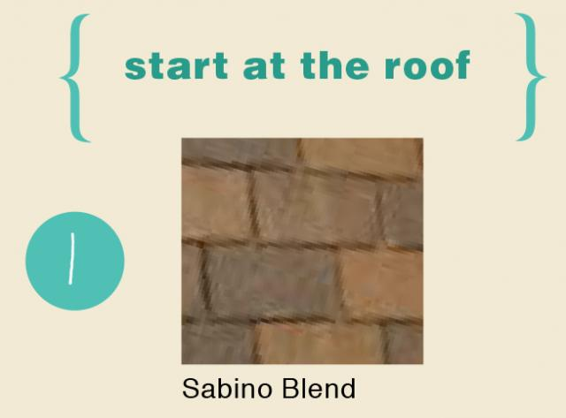 Perfect Color Scheme For A Spanish Style Home- Roof Color